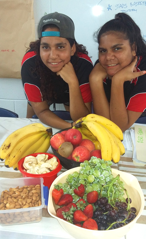 Stars_Foundation_girls_with_fruit_platter